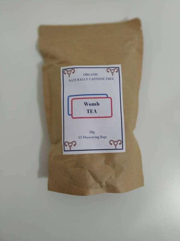 packet organic womb tea