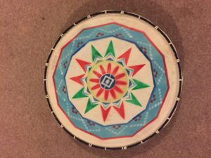 Our Indian-style drum
