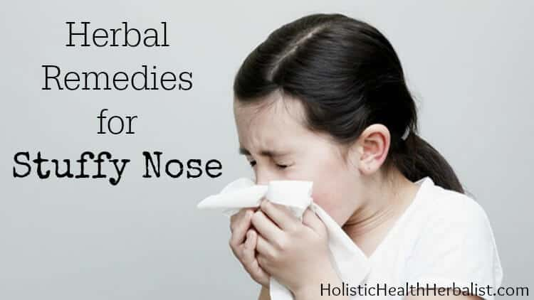 herbal remedies for stuffy