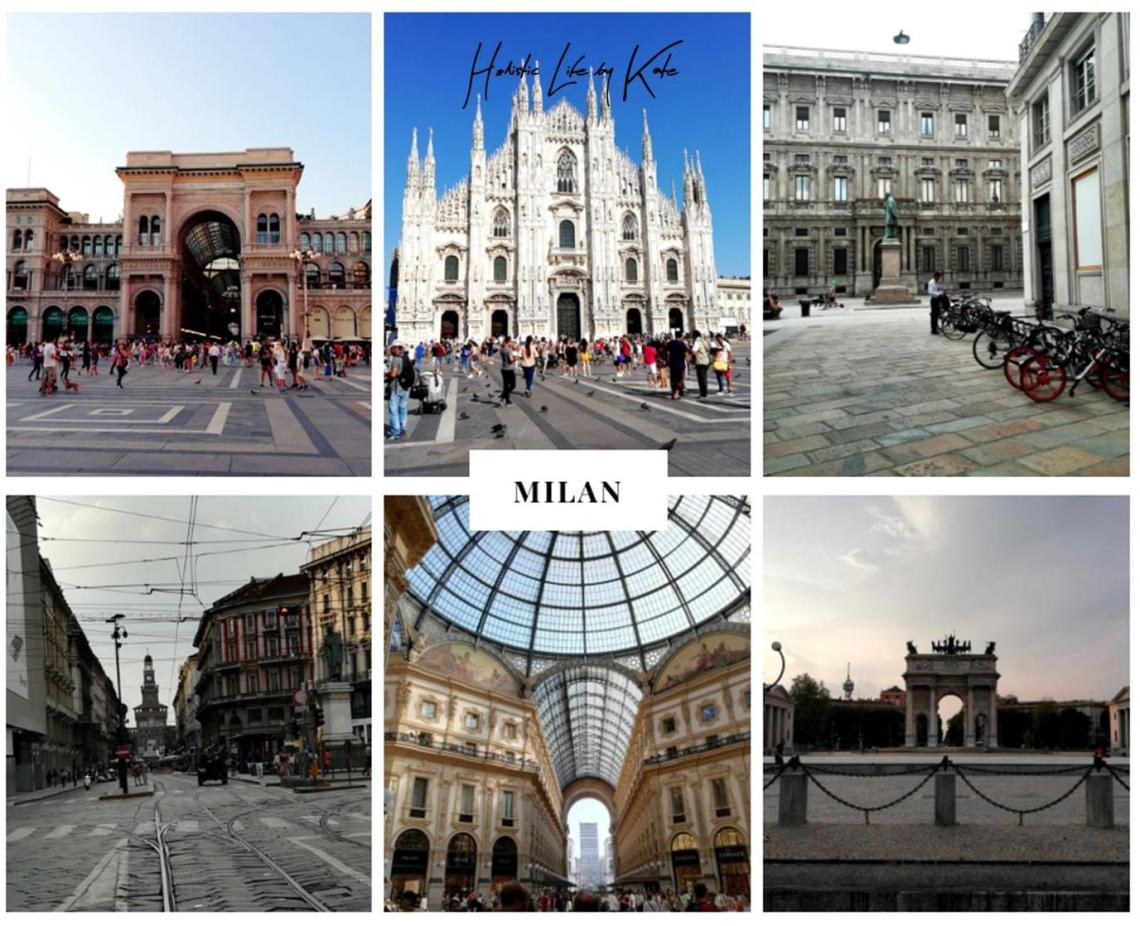 One day trip in Milan