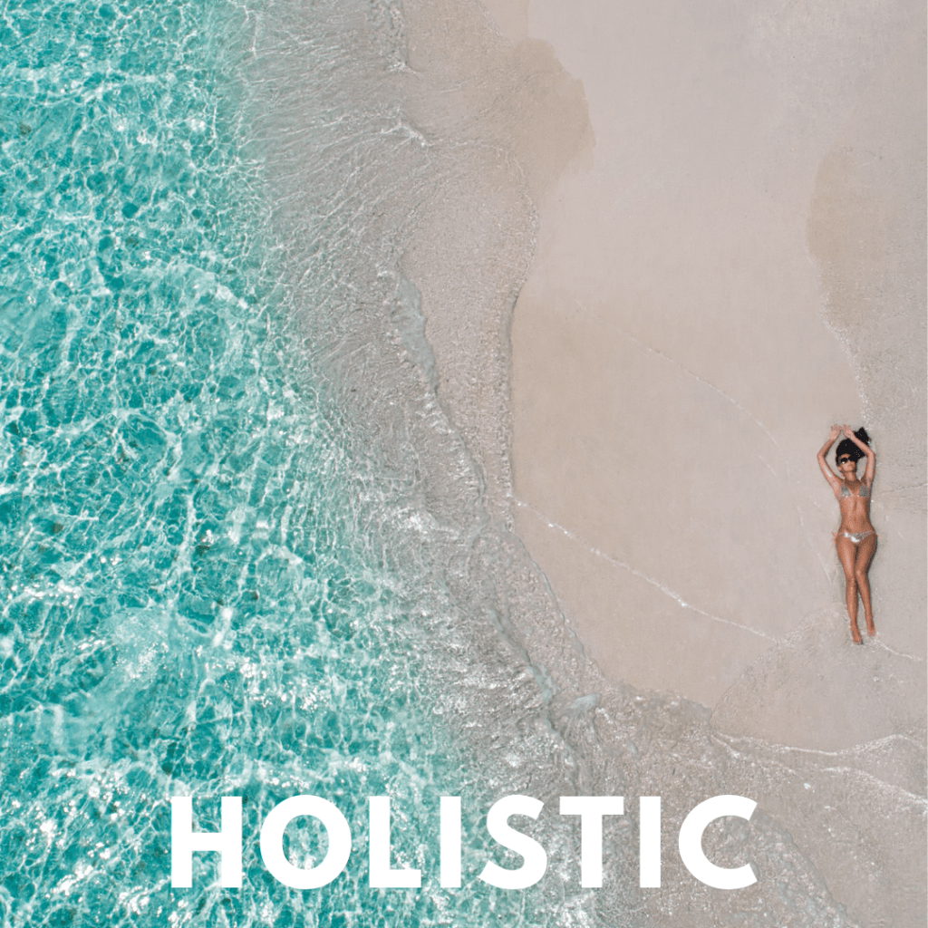 how to live a more holstic lifestyle