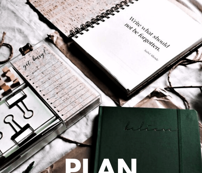 Get into the Habit of Being Seriously Organized Before 2020! – powerful tips, healthy hacks and lots of freebies!