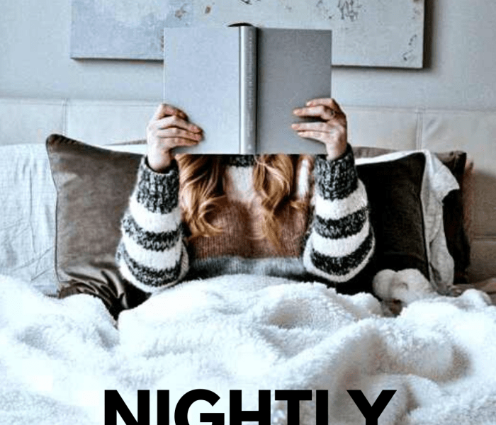 The Ultimate Night Routine For Better Sleep And More Productive Mornings + free printables and checklists for organizing your evenings.