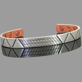 Mens Womens Celtic Copper Magnetic Bracelet- Maya
