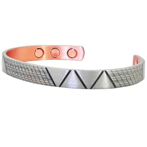 Mens Womens Celtic Copper Magnetic Bracelet- Maya