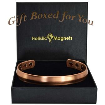Copper Magnetic Bracelet Bangle for Pain Health Bracelet Wristband - Savanna