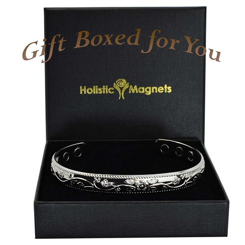 womens copper magnetic bracelet arthritis pain relief magnetic therapy bangle