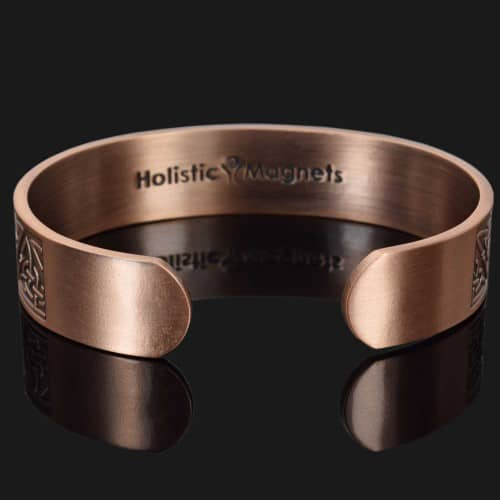 Copper bracelet for arthritis magnetic therapy bracelet health bracelet helaing bracelet bangle for pain trinity knot