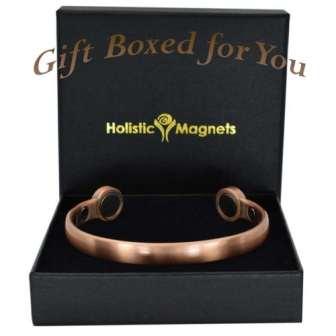 Magnetic bangle pain relief bracelet mens copper bracelet arthritis magnetic therapy health bracelet bracket STRONG MAGNETS hpc