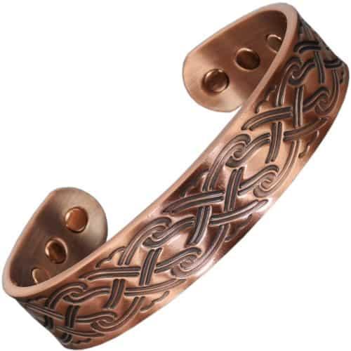copper magnetic bracelet bangle magnetic therapy arthritis pain releif health bracelet cp