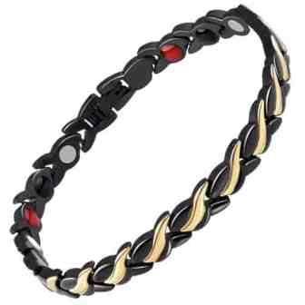 ladies healing magnetic bracelet energy ion health bracelet bgb4