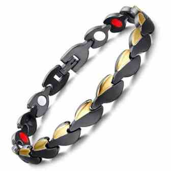 healing magnetic therapy bracelet for women ion energy bracelet pain relief bgl4