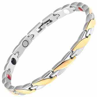 .ladies helth bracelet ion energy bracelet magnetic therapy for pain relief gsps