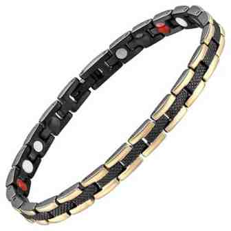 ladies magnetic halth bracelet magnetic therapy pain releif ion energy bracelet bgs4