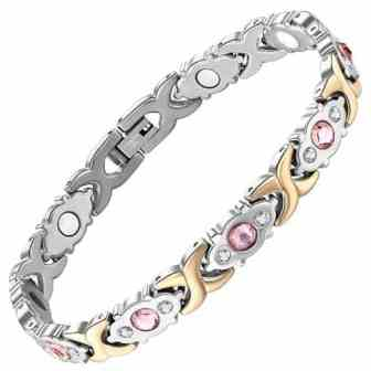 magnetic bracelet women energy bracelet health healing pain relief magnetic therapy bracelet pg4