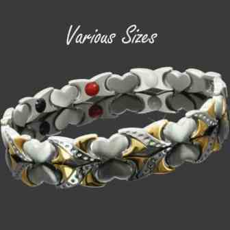 magnetic bracelet for pain ladies magnetic therapy bracelet ion energy healing bracelet hkg4
