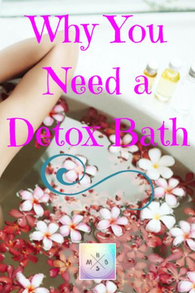 Why You Need a Detox Bath
