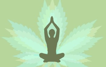 Day 56:  The Pain Relieving Magic of Yoga & Cannabis