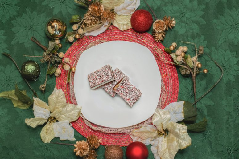 This dairy free peppermint bark is a beautiful and delicious addition to your holiday! Requiring just a few simple ingredients, it comes together quickly so you can spend more time with loved ones and less time in the kitchen.