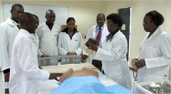 Ghanaian doctors