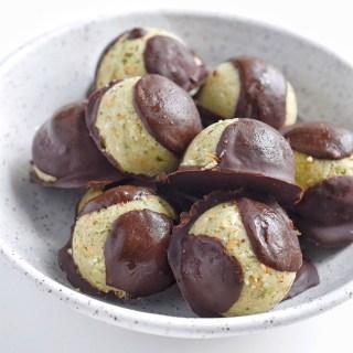 Chocolate Coconut Hemp Truffles