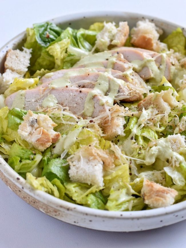 Raw Caesar Salad