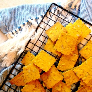 Garlic Turmeric Crackers!
