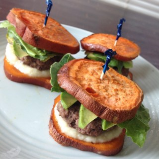 Paleo Bison Sliders