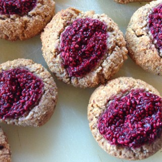 Paleo Thumbprint Cookies