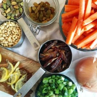 Warming Holiday Carrot Salad