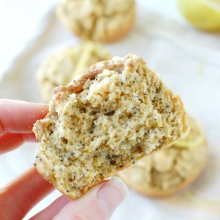 Paleo Lemon Poppyseed Muffins