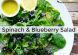 thyroid-nurse-spinach-blueberry-salad