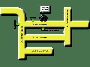 Peta Lokasi Alamat Holistik Modern