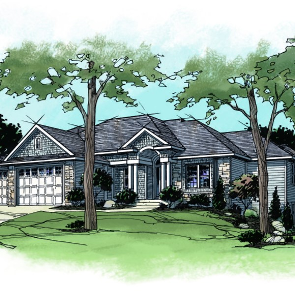 Color Rendering of Parade of Homes Residence
