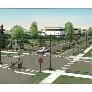 Concept Sketch of Proposed Industrial Park Entry