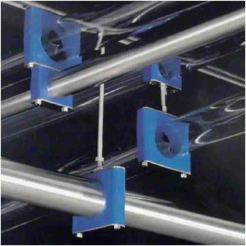 Block Style Hangers Allow   You to Hang Multiple Tubes from the Same Mounting Point