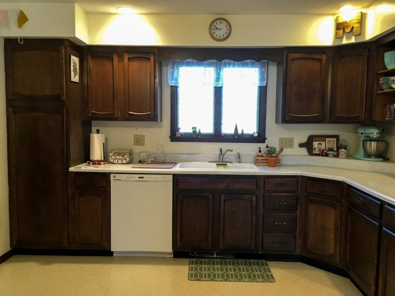 Chalk Painted Kitchen Cabinets Two Years Later Holland