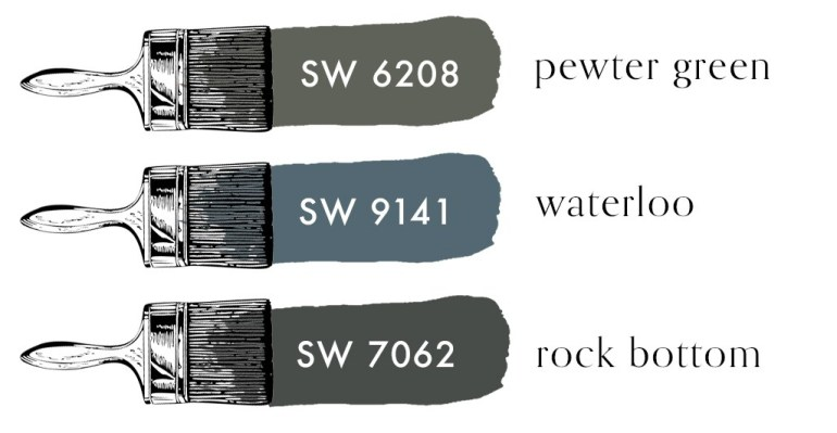 SW PAINT COLORS