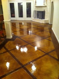 Decorative Concrete Overlay In Flower Mound, TX