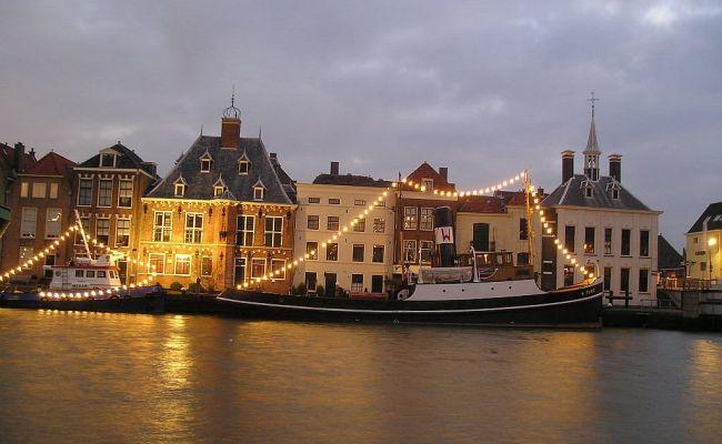 Maassluis The Netherlands Pixelated