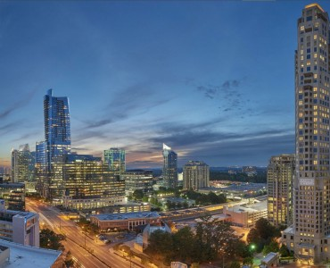 Birdseye View of the Buckhead by Residences at Mandarin Oriental