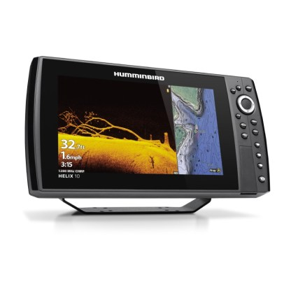 Hollandlures HUMMINBIRD HELIX 10 CHIRP MEGA DI+ GPS G4N 411410-1 left