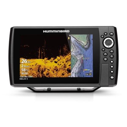 Hollandlures HUMMINBIRD HELIX 9 CHIRP MEGA DI+ GPS G4N 411370-1 front 1
