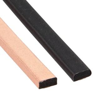 EMI shielding gaskets copper nickel conductive fabric