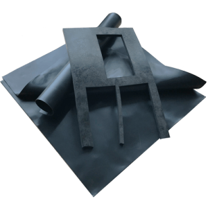 Conductive carbon filled rubber