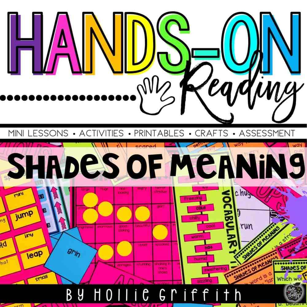 medium resolution of Teaching Shades of Meaning   Hollie Griffith