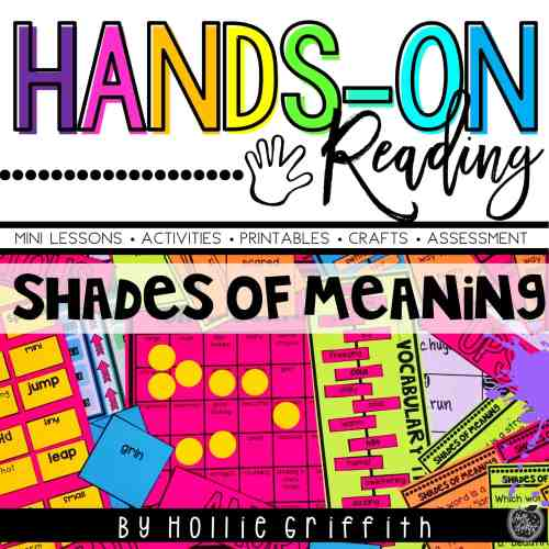small resolution of Teaching Shades of Meaning   Hollie Griffith
