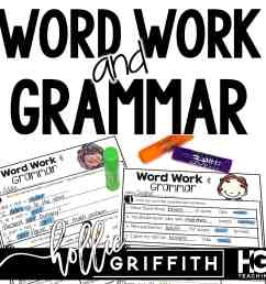 Word Work and Grammar Review Worksheets   Hollie Griffith [ 2560 x 2560 Pixel ]