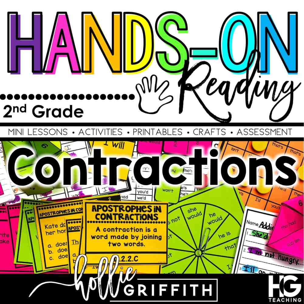 medium resolution of Teaching Contractions   Hollie Griffith