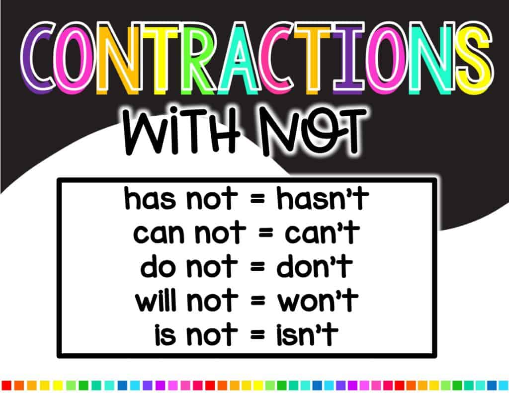 hight resolution of Teaching Contractions   Hollie Griffith